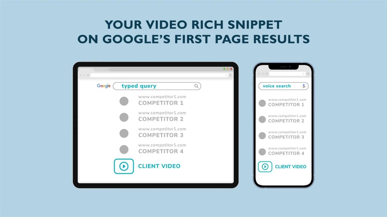Luxyfer è l'unico tool di automatizzazione inserimento metadati per i video on serp. Con l'algoritmo Luxyfer è possibile ottenere la miglior SEO per video grazie alla miglior iniezione di dati strutturati per generazione di rich snippet nelle SERP di Goog