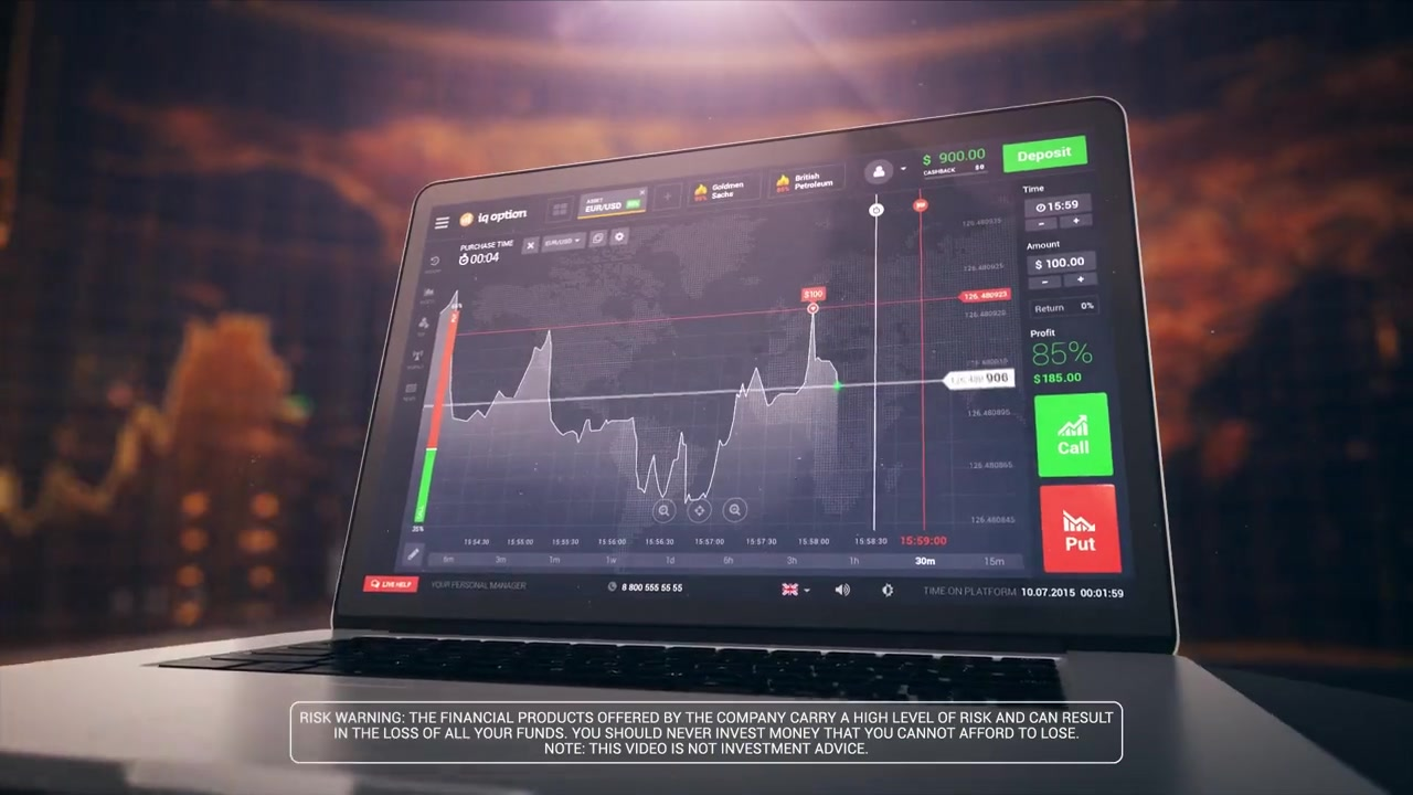 CFD finance and CFD trading strategies for beginners, with IQ Option FX trading where to invest and how to invest safely on the markets, make online trading guides, tips, strategies and useful solutions and invest money in the best companies