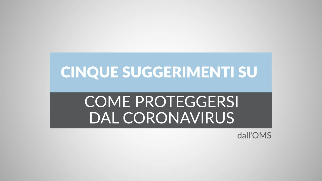 """Il COVID-19, conosciuto come """"Coronavirus"""", è una seria minaccia ed è stato classificato dall'organizzazione mondiale della sanità come """"Pandemia""""; prevenire il contagio con precauzioni consigliate dal WHO è fondamentale"""