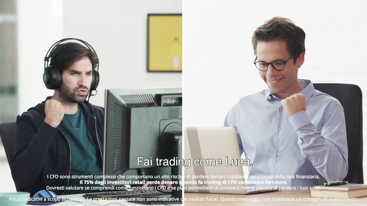 Trading online e investire nelle migliori azioni ed ETF, fare trading con eToro nelle coppie di valute, indici e materie prime con CFD, dove investire e come investire con sicurezza sui mercati finanziari, acquistare e vendere titoli